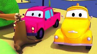 Odtahové auto pro děti - Pick up Odtahové auto Tom ve Městě Aut