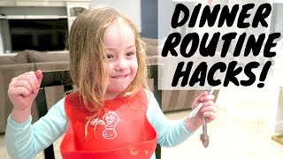 Dinner routine ideas & getting picky kids to eat!!