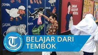 Belajar Banyak Hal dari Tembok tembok di Pademangan Timur Jakarta Utara