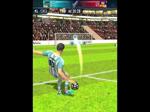 Vidéo Championnat de Football-coup franc