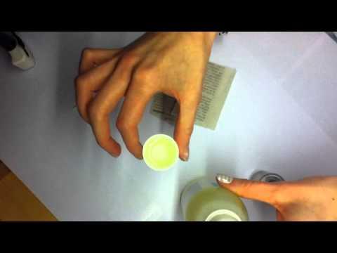La préparation du microorganisme végétal sur le membre sexuel
