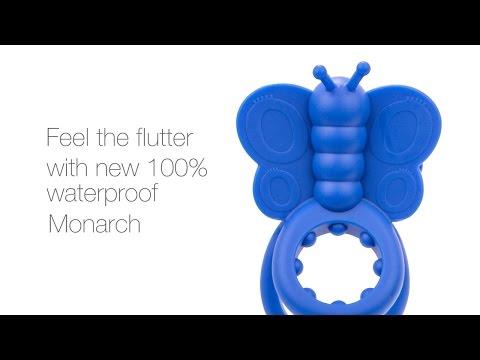 The Screaming O - Monarch Wearable Butterfly Penis Halkası