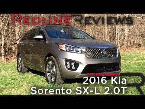 redline review 2016 kia sorento sx l 2 0t. Black Bedroom Furniture Sets. Home Design Ideas