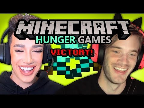 Minecraft Hunger Games dengan James Charles