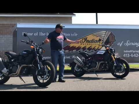 2019 Indian FTR™ 1200 in Westfield, Massachusetts - Video 1
