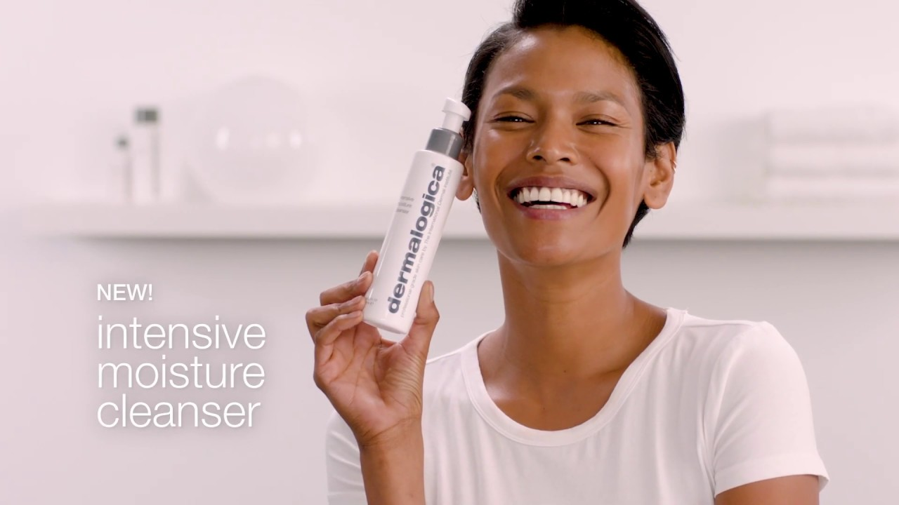 intensive moisture cleanser video