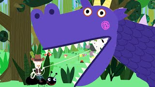 Ben and Holly's Little Kingdom | Dragon Rustling | Kids Videos