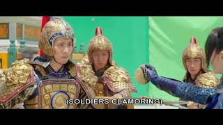 THE GREAT WALL ~ EXTENDED SCENES