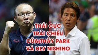 Thái cực trái chiều giữa thầy Park và HLV Nishino sau khi Thái Lan bị loại khỏi SEA Games 30