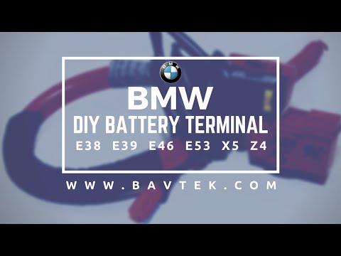 BMW E46 E39 E38 E53 X5 Z4 Battery Terminal Video   Car Fix