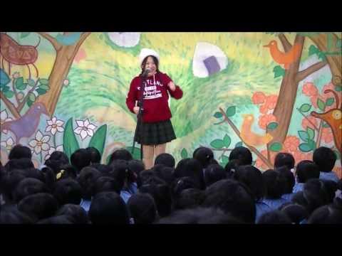 小山白ゆり幼稚園観劇会おむすびころりん始めの話し