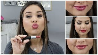 20 MAC Lipstick Swatches!