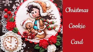 Cute Christmas Cookie Card