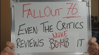 Critics PAN FALLOUT 76 as REVIEWS come Floating In !!