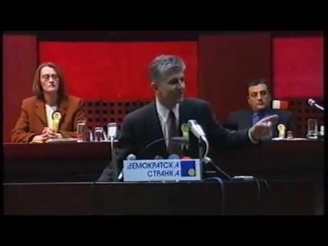 Govor dr Zorana Đinđića na šestoj redovnoj Skupštini Demokratske stranke