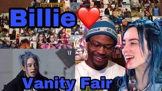 Billie Eilish Same Interview, One Year Apart  Vanity Fair | Reaction