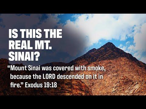 Bob Cornuke talks about Moses and the Real Mount Sinai