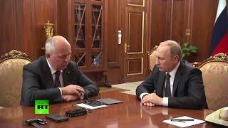 Чемезов представил Путину новые разработки «Ростеха»