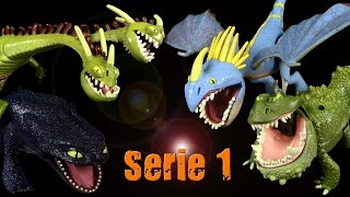 Dragons - Serie 1 Drachen Review verschiedener Hersteller / 2014 Re-Upload