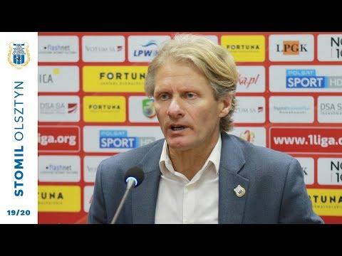 Konferencja prasowa po meczu Miedź Legnica - Stomil