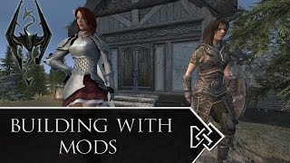 Building with Mods - Skyrim - Lakeview Manor