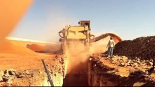 TESMEC 1675 Chainsaw Water Pipeline - Al Ula Saudi Arabia
