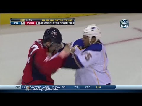 Ryan Reaves vs Tom Wilson