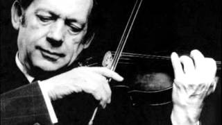 JS.BACH - VIOLIN Concerto in A minor, BWV 1041 (GRUMIAUX)