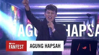 Gambar cover Agung Hapsah @ YouTube FanFest Indonesia 2017