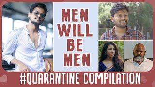 Hi guys !  Sit Back Relax ! Stay Home Stay Safe ! And Watch The Men Will Be Men Compilation  this #quarantine season!  Powered by #Infinitum network solutions.   Cast :- #Shanmukhjaswanth , Vishnu Priya , Sathwik G roy , Pruthvi Mukka & Jeevan Kumar