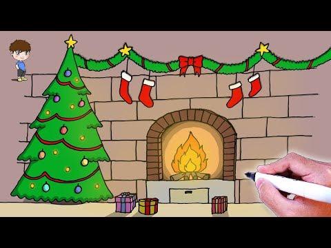 Chiqui Pedia Dibujos Para Dibujar Paso A Paso Faciles De Navidad