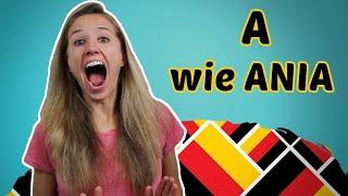 GERMAN PRONUNCIATION 1: The German Alphabet 🔠🔠🔠