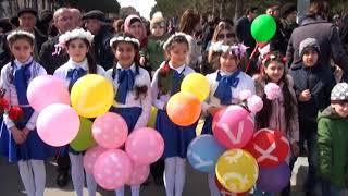19 03 2018 Sumqayitda Novruz bayrami
