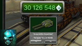 Tanki Online - Buying Juggernaut and Terminator! - 30 MILLION GARAGE UPGRADE! NEW RECORD!!