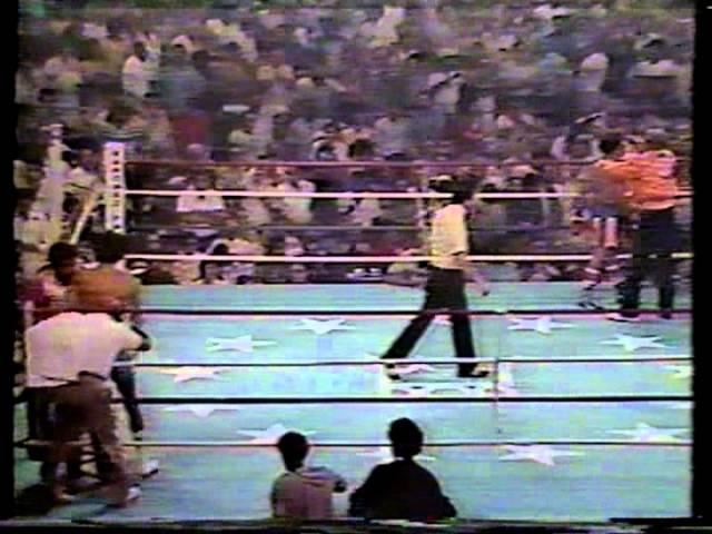 Salvador Sanchez vs. Wilfredo Gomez, 1981, (KO8)