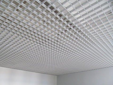 Как собирать потолки Грильято | Все нюансы монтажа