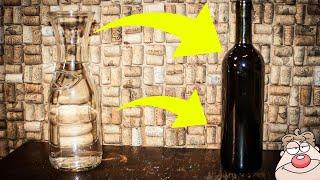 Jak zamienić wodę w wino? :)