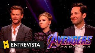 VENGADORES ENDGAME | Entrevista a Chris Hemsworth, Scarlett Johansson y Paul Rudd