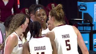 Women's Basketball: Boston College Vs Holy Cross Highlights