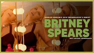 Britney Spears - Singles Megamix 2015 (Mondragon's Remix) - 1080i