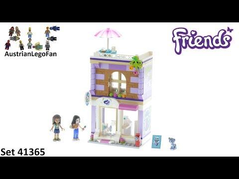 Vidéo LEGO Friends 41365 : L'atelier d'artiste d'Emma