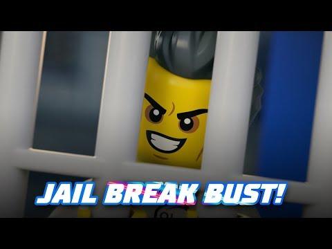 Vidéo LEGO City 60210 : La base aérienne de la police