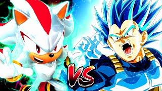 EPIC!! Prince Vegeta Vs The Ultimate Life Form Shadow   Sprite Battle of Legends Part 2