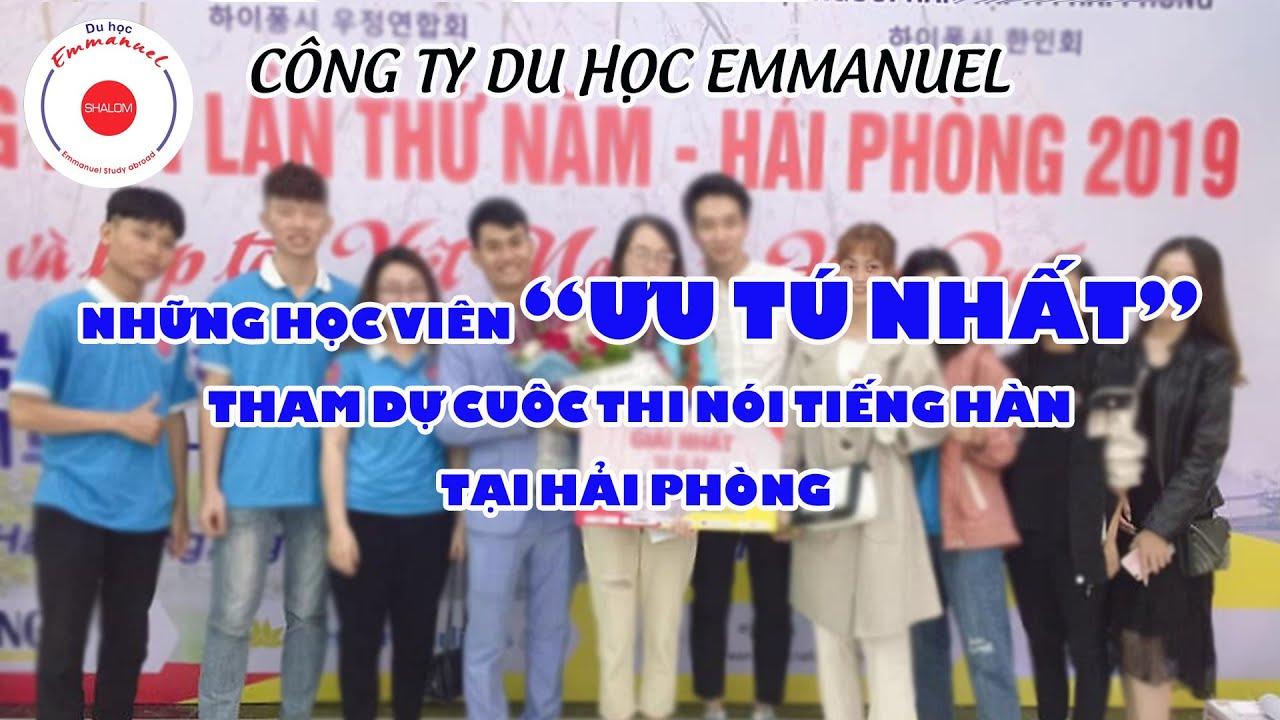 Đặng Thị Thanh-Đạt giải nhất tiếng Hàn Hải Phòng