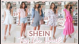 HUGE SHEIN TRY ON SUMMER 2020 | CUTE + AFFORDABLE SUMMER TOPS + DRESSES