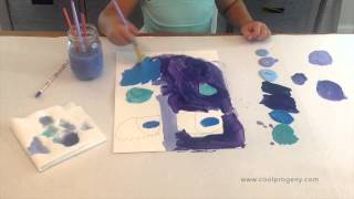 Making Picasso-Inspired BIG FACE Paintings