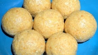 Peanut Laddoo - Easy Sweet Recipe