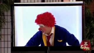 Клоун в 3D