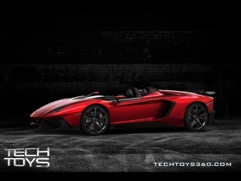Tech Toys 360 Preview: Lamborghini Aventador and Aventador J (Season 2, Episode 1)