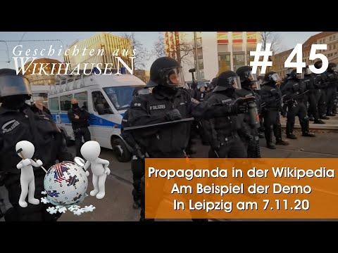 ▻ Propaganda am Beispiel der Demo vom 7.11.20 in Leipzig | #45 Wikihausen |  Kalliste